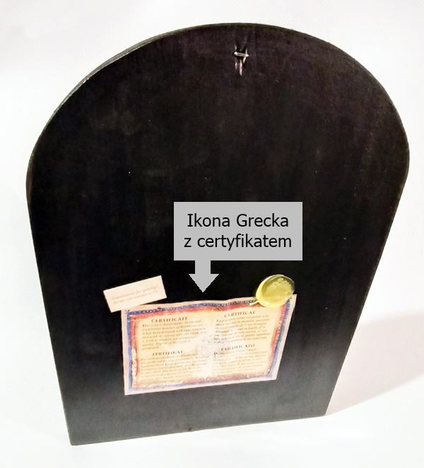 Ikona Grecka Eleusa na prezent ArtDeco sklep