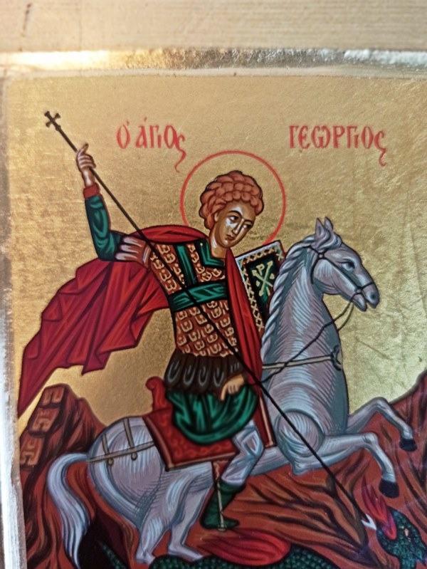Kup ikonę świętego Jerzego