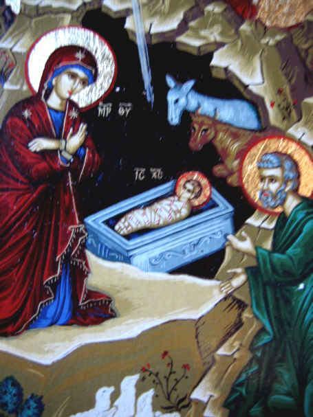 Boże  narodzenie ikona
