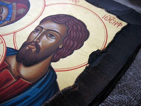 Święta Rodzina ikona Grecka