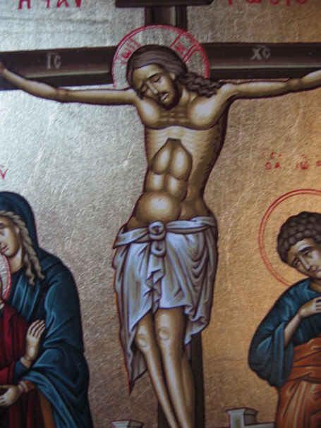 ikona Pan Jezus ukrzyżowany