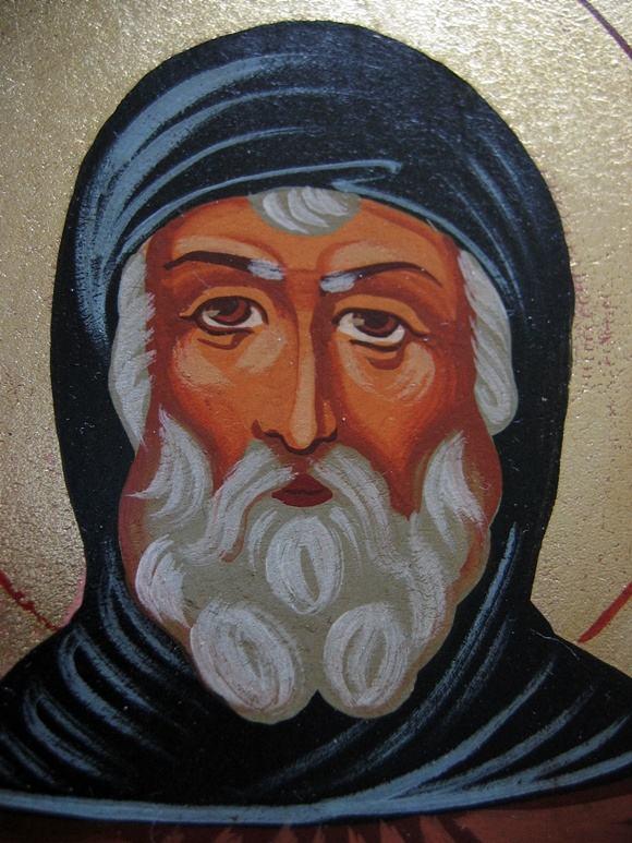 Pisana ikona Św. Szymon - St. Simon