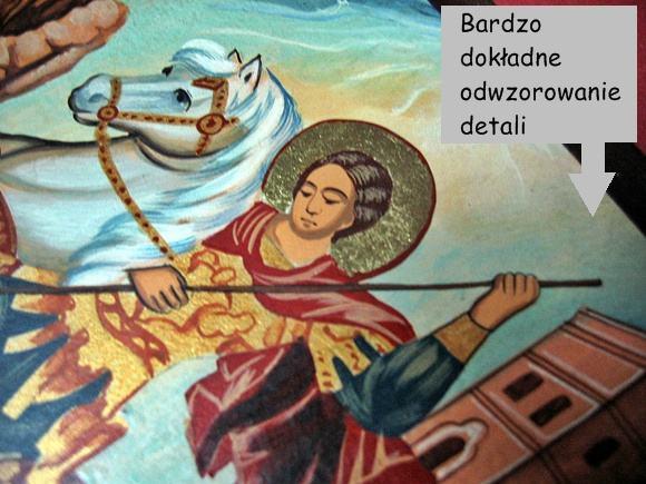 Ikona malowana Jerzy sklep