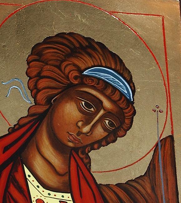 Archanioł michał ikona na prezent sklep artdeco