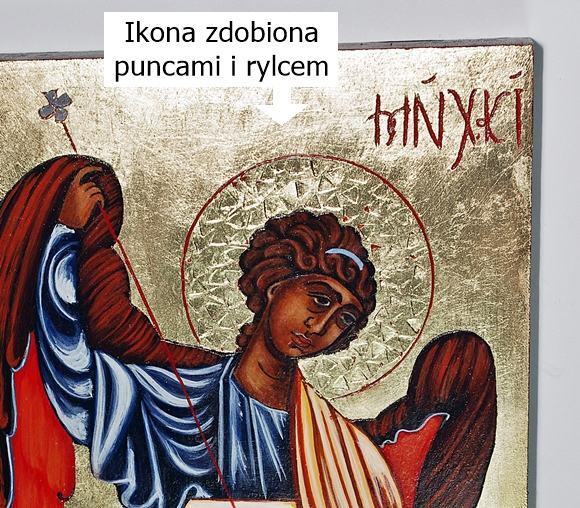 ikona na prezent Archanioł Michał sklep artdeco