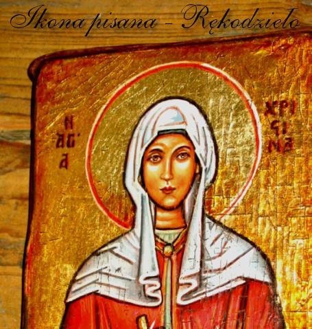 Ikona św. Krystyny