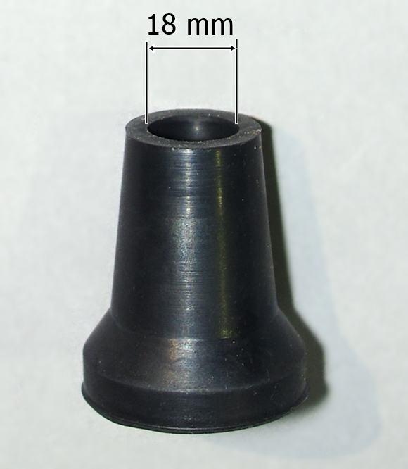 Nasadka gumowa 18 mm do lasek i kul