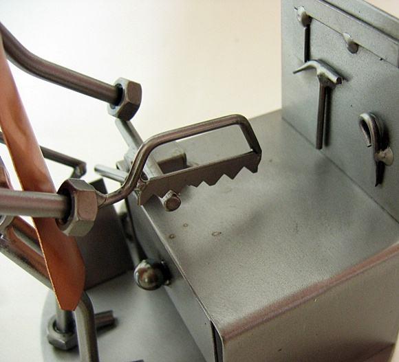 Warsztat ślusarski metaloplastyka