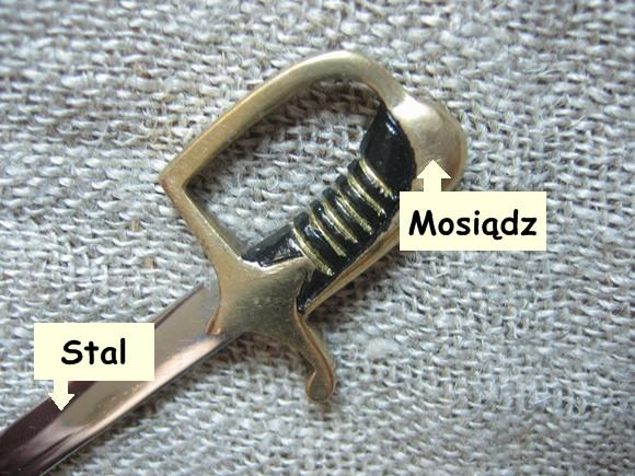 Nożyk do kopert miniaturka szabli