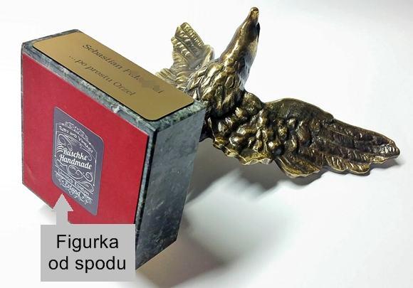 Figurka orła rękodzieło handmade
