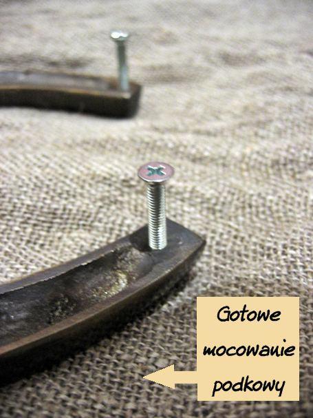 mocowanie - montaż podkowy