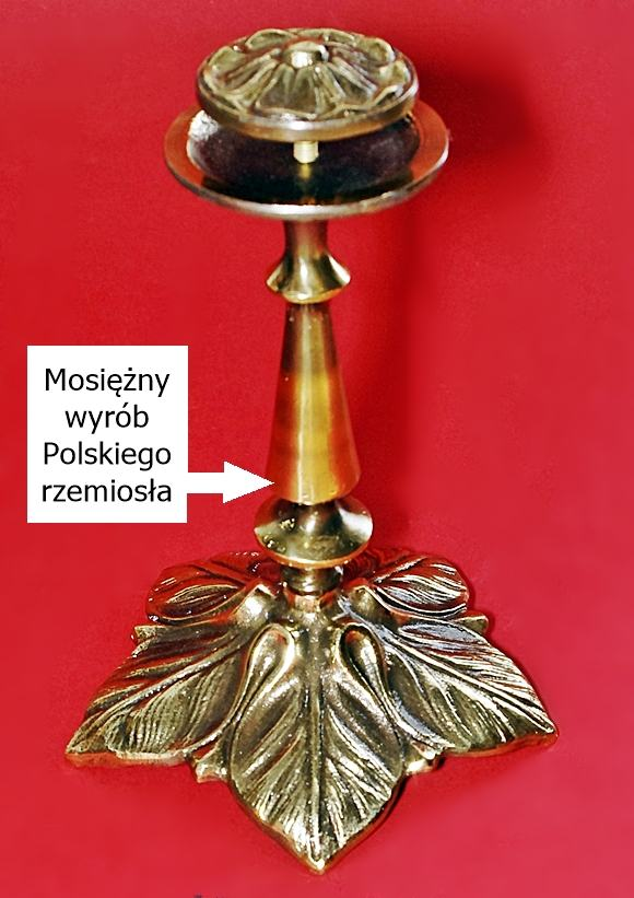 Mosięzna patera polskiego rękodzieła sklep artdeco
