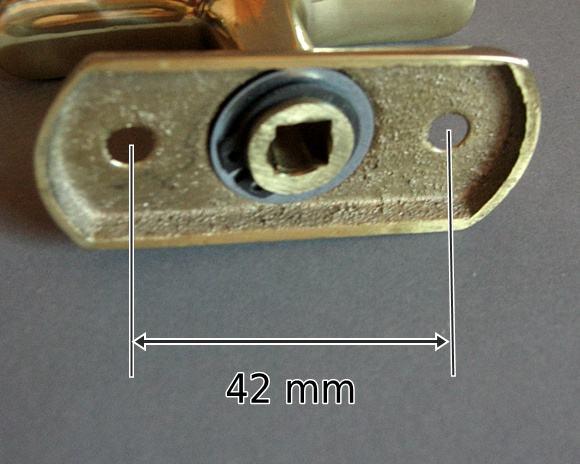Wymiary rozstaw klamki okiennej