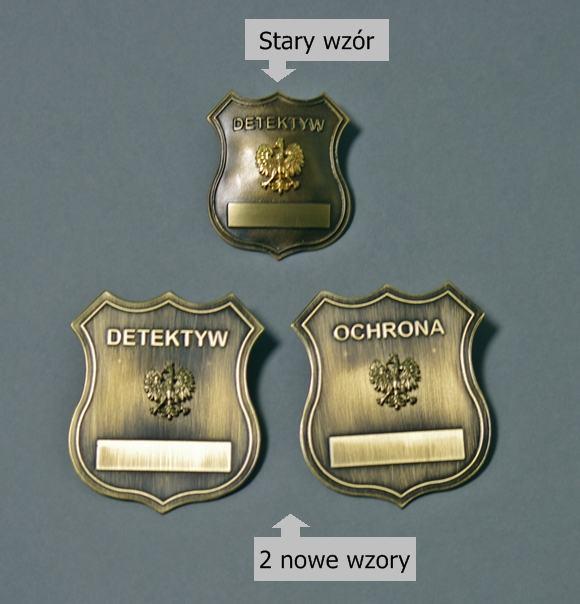Nowe odznaki słuzbowe