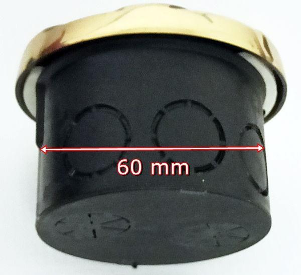 Stylowe mosiężne przyciski i dzwonki na 230 V