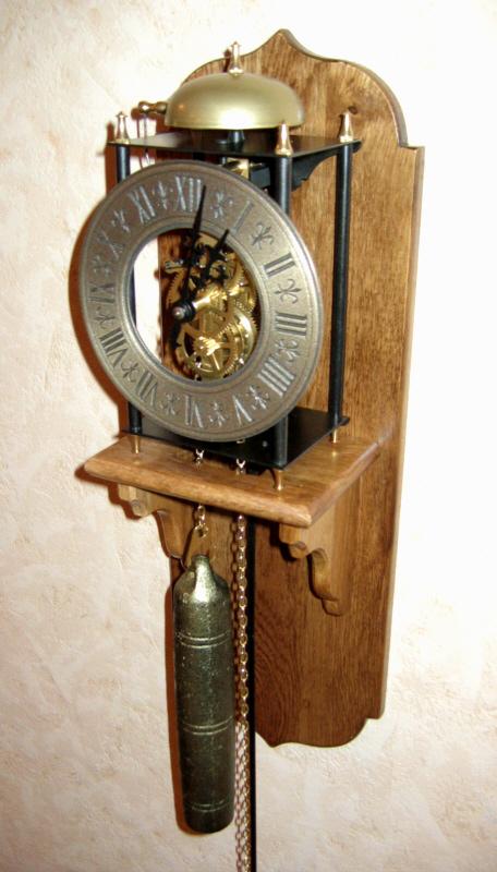 Belfast Zegar Wiszący Z Wagą Wahadłem I Gongiem
