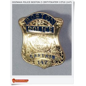 Odznaka BOSTON POLICE Captain 147