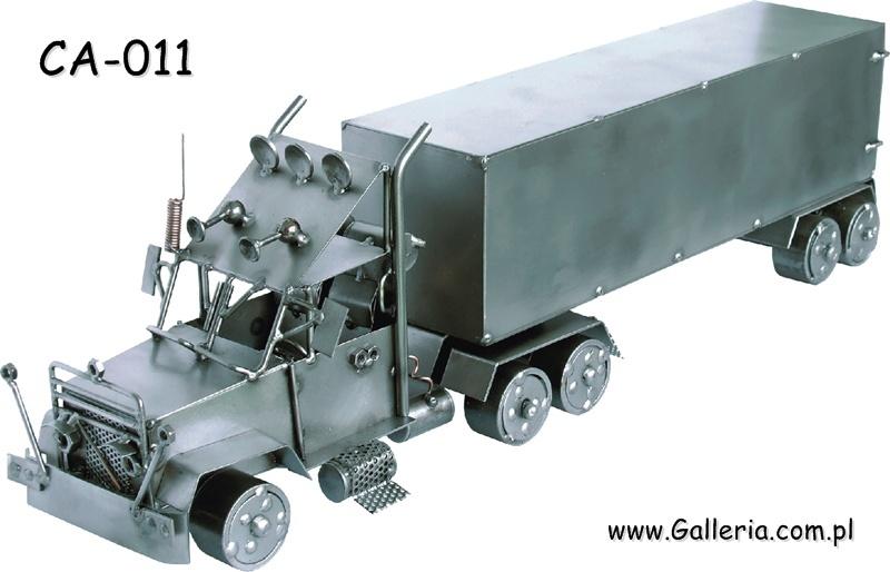 Wspaniały Truck TIR ciągnik siodłowy + naczepa kontener + duży model SZ44