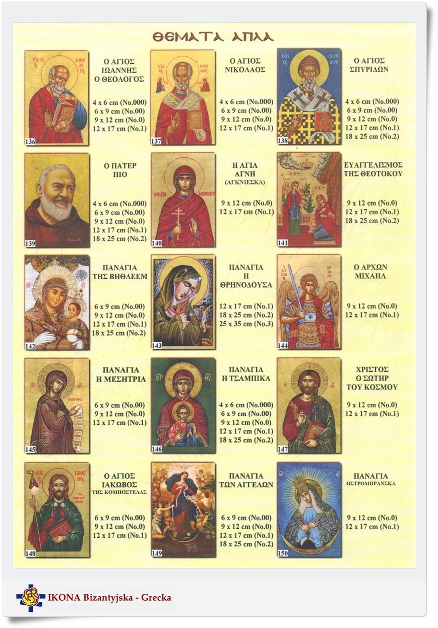 Obraz ikony najlepszą pamiątką ceremoni chrztu świętego